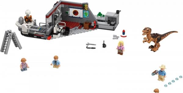 Lego Jurassic World: Pościg raptorów (75932)