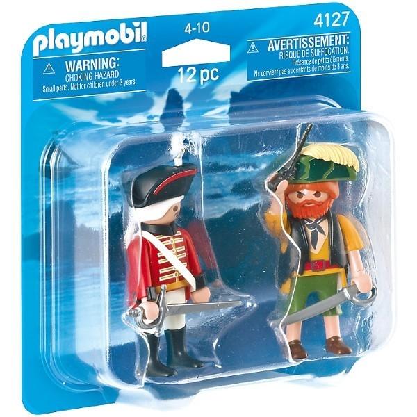 PLAYMOBIL Duo Pack Pirat i Żołnierz'Czerwonych k