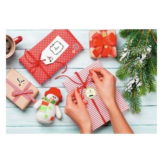 Naklejki bożonarodzeniowe Z Design - ramki do opisu ręcznego (54127)