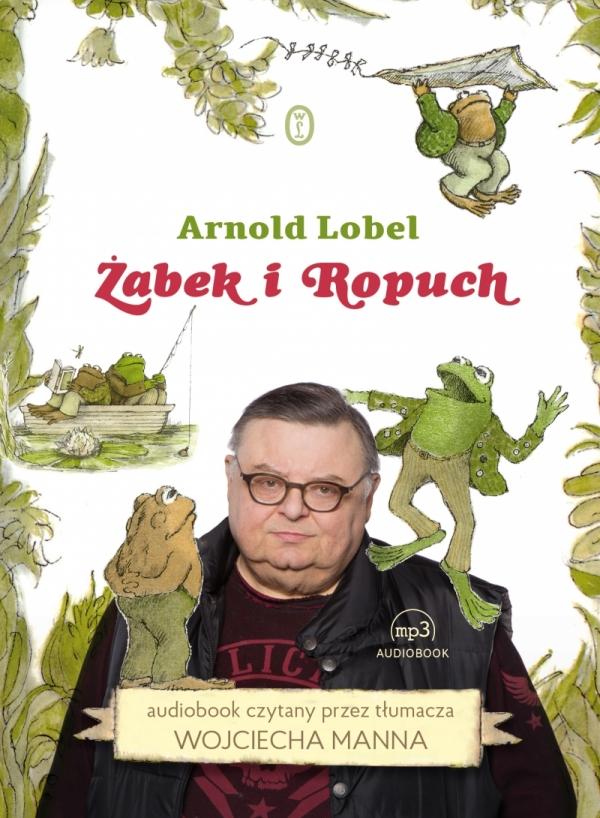 Żabek i Ropuch CD MP3 (Audiobook) Arnold Lobel
