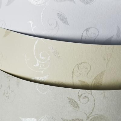 Papier ozdobny (wizytówkowy) Galeria Papieru Liana A4 - biały 230 g (203901)