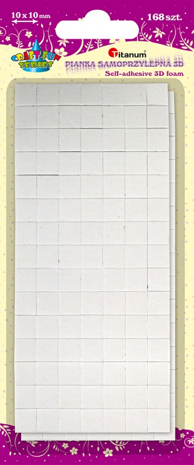 Pianka samoprzylepna 3D (307931)