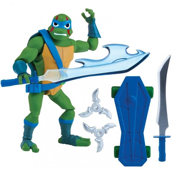 Wojownicze Żółwie Ninja: Figurka podstawowa z akcesoriami - Leonardo (80800/80801)