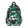 Plecak 3-komorowy BP26 Zielone klocki 3D