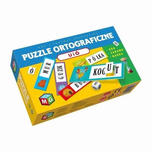 Puzzle ortograficzne U i Ó (30027)