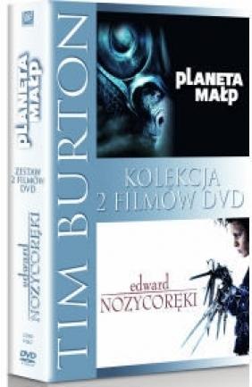 Tim Burton: Edward Nożycoręki / Planeta Małp (2 DVD)