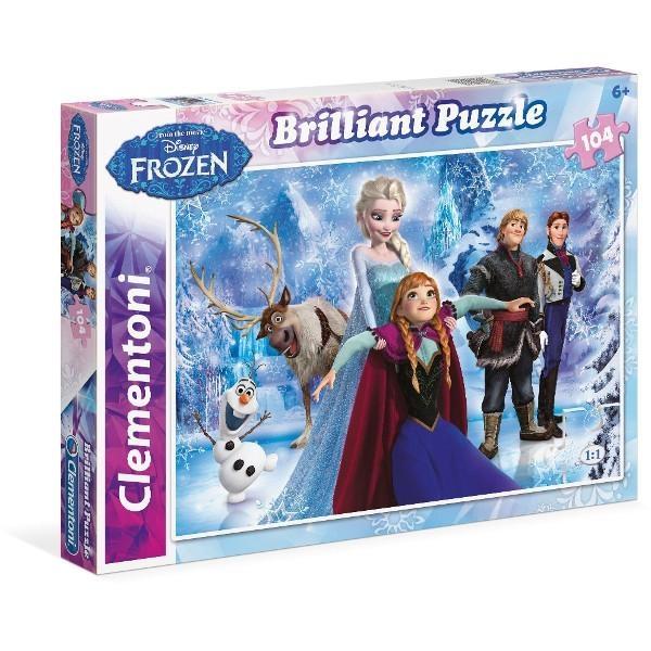 Puzzle 104 brilliant: Frozen (20127)
