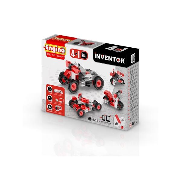 ENGINO Inventor 4 models motorbikes (0432)