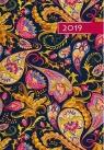 Kalendarz 2019 B6 Kolorowy ornament