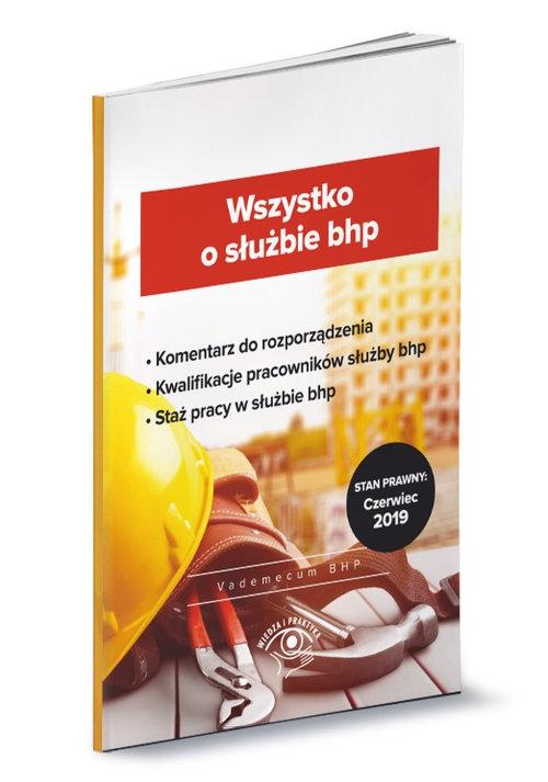 Wszystko o służbie bhp - Praca zbiorowa - książka
