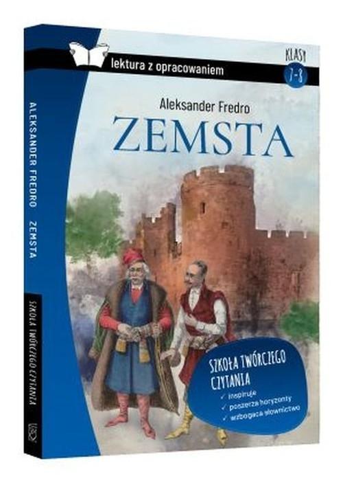 Zemsta Aleksander Fredro lektura z pracowaniem Zioła-Zemczak Katarzyna