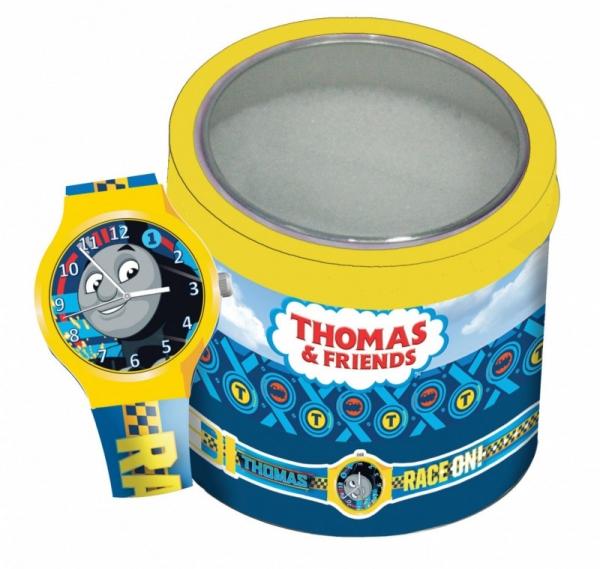 Zegarek analogowy w puszce DIAKAKIS Tomek i przyjaciele (185570421)