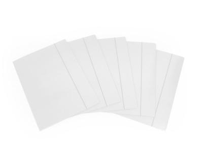 Teczka kartonowa na gumkę Emerson A4 kolor: biały 300 g
