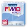 Masa termoutwardzalna Fimo effect. Niebieski agat  transp-perłowy
