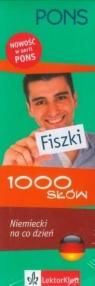 Pons Fiszki 1000 słów Niemiecki na co dzień