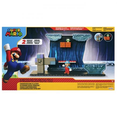 Super Mario Zestaw Underground z 6,5 cm figurką - Dostępność 2/04