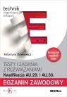 Egzamin zawodowy Technik organizacji reklamy AU.29 i AU.30 Osiekowicz Katarzyna