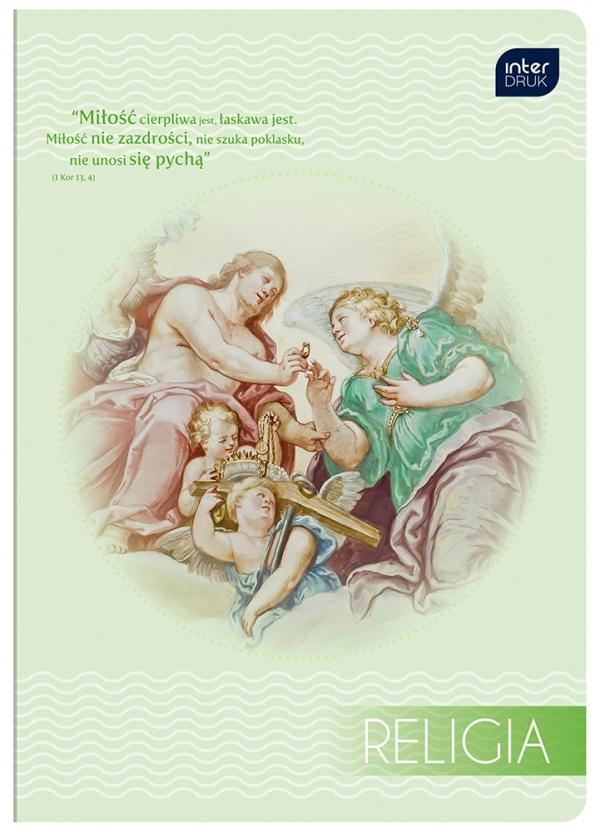 Zeszyt do religii A5 60 kartek kratka