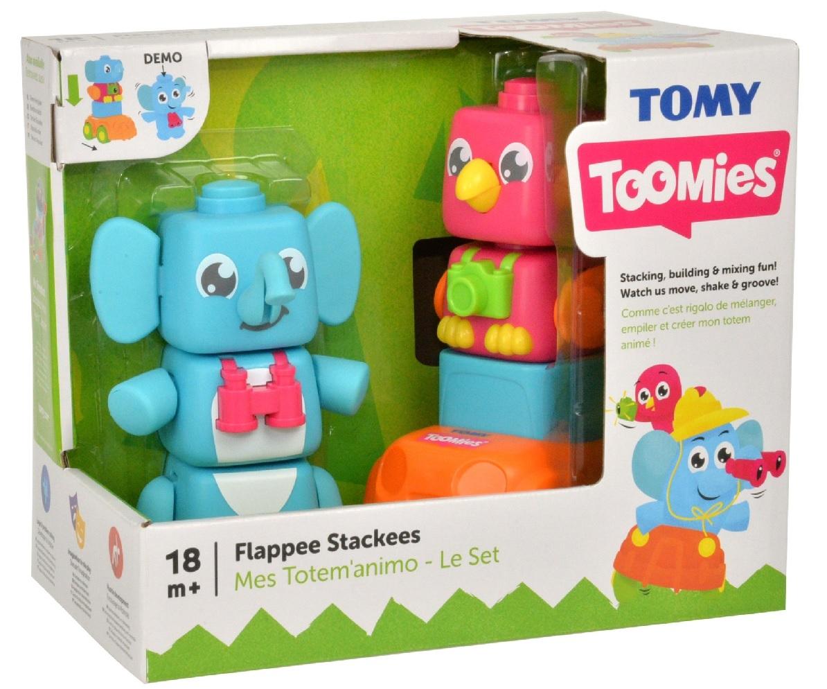 Tomy Toomies - Jumbo i Polly w podróży (E72727)