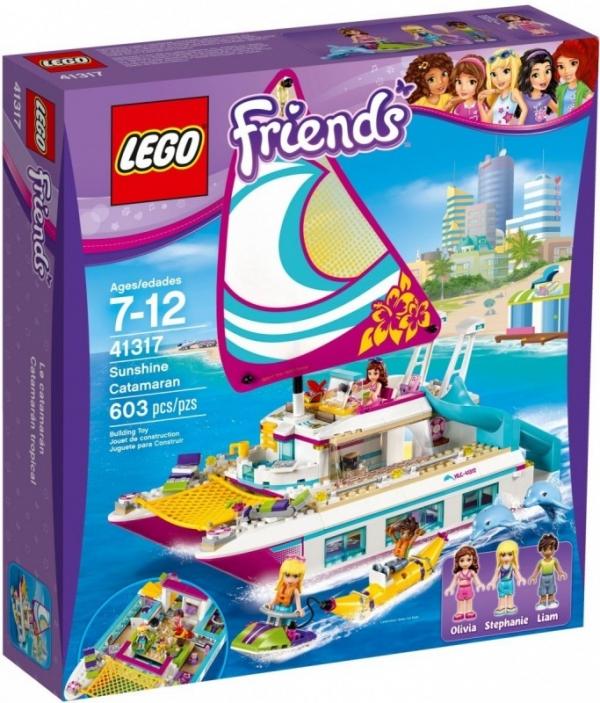 Lego Friends: Słoneczny katamaran (41317)