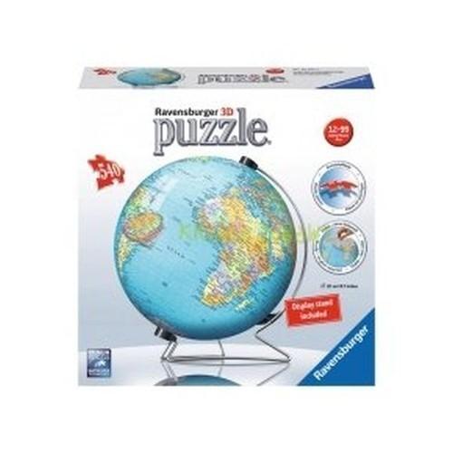 Puzzle 3D Kuliste 540 Kula ziemska (Uszkodzone opakowanie) (124275)