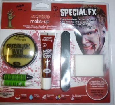 Zestaw do makijażu Efekty Specialne Fx ALPINO