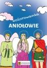 Aniołowie - kolorowanka