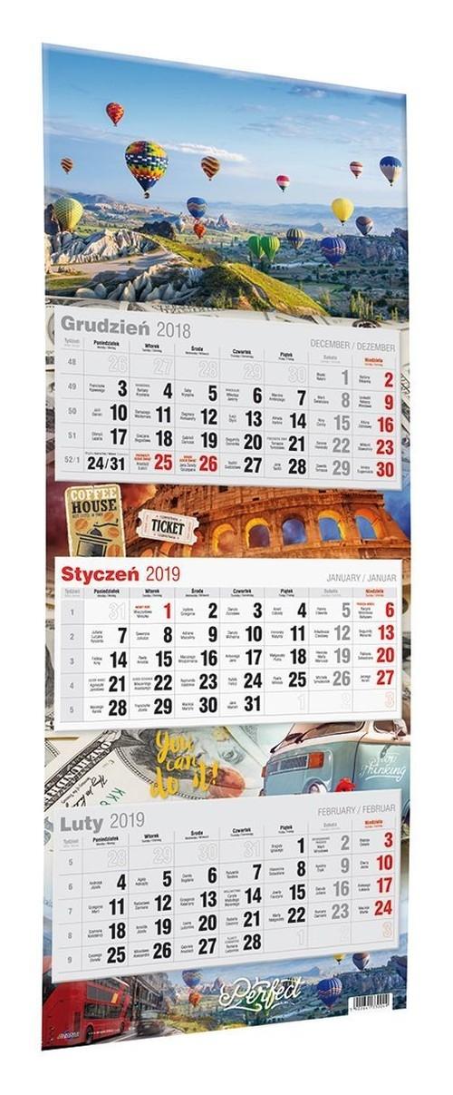 Kalendarz 2020 Trójdzielny Duży