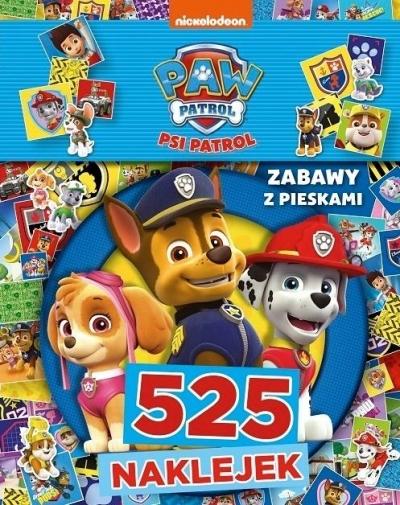 Psi Patrol. 525 naklejek. Zabawy z pieskami