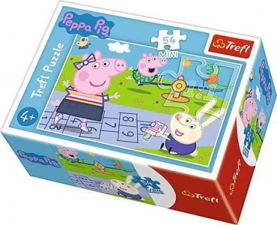 Puzzle mini 54: Wesoły dzień Świnki Peppy 3