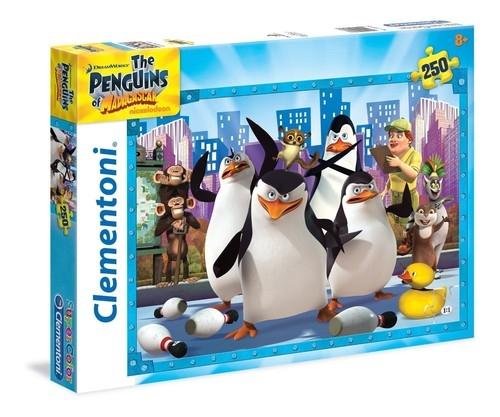 Puzzle SuperColor Pingwiny z Madagaskaru 250 (29727)