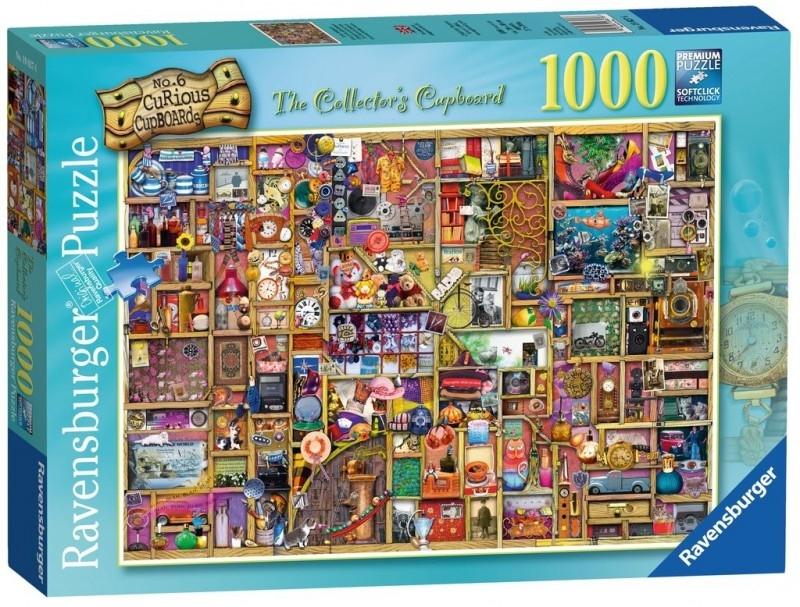 Puzzle 1000: Szafka kolekcjonera (19827) (Uszkodzone opakowanie)