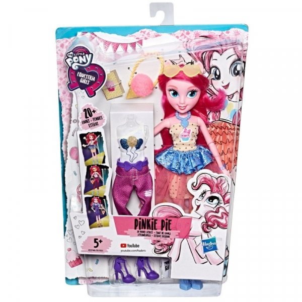 My Little Pony Modne lalki - Pinkie Pie (E1931/E2746)