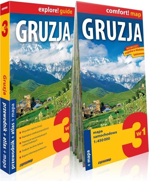 Gruzja explore! guide Szymczak Anna, Szymczak Marcin