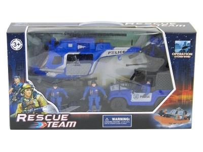 Zestaw policyjny Adar zestaw pojazdów policyjnych z figurkami (502277)