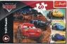 Puzzle 60: Zygzak McQueen z przyjaciółmi