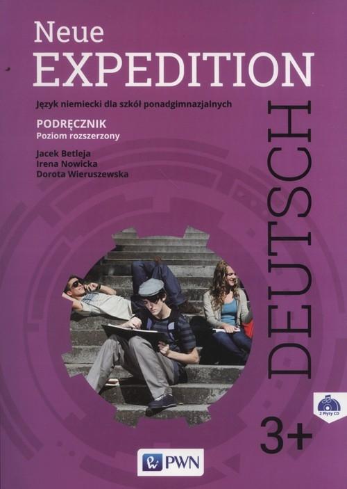 Neue Expedition Deutsch 3+ Podręcznik + 2CD Betleja Jacek, Nowicka Irena, Wieruszewska Dorota