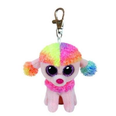 Maskotka brelok Beanie Boos Rainbow - Wielobarwny Pudel (35027)