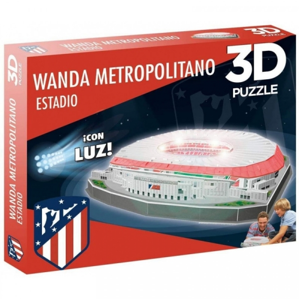 Nanostad Puzzle 3D Stadion Wanda Madryt (14061)