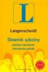 Słownik szkolny polsko-niemiecki niemiecko-polski z płytą CD