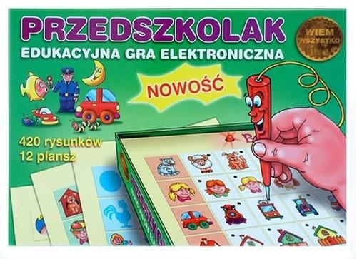 Przedszkolak Edukacyjna gra elektroniczna (GRA-15) (Uszkodzone opakowanie)