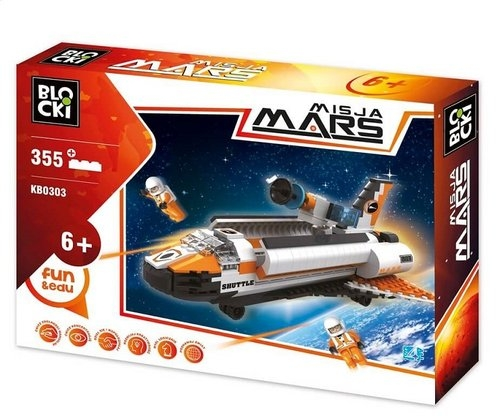 Klocki Blocki: Misja Mars 355 elementów (KB0303)