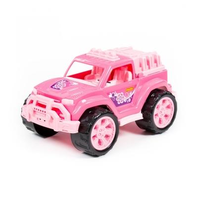 Samochód Polesie Legion różowy (78278)
