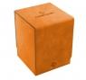 Ekskluzywne pudełko Squire Convertible na 100+ kart - Pomarańczowy (08278)