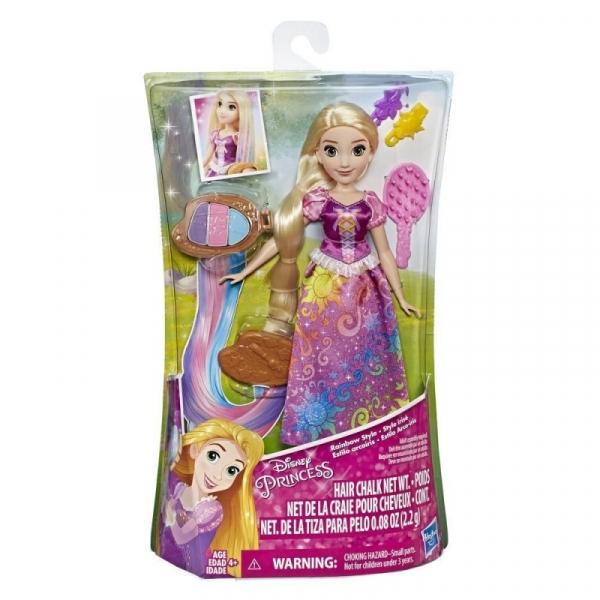 Disney Princess Tęczowa Roszpunka (E4646)