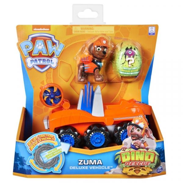 Zestaw figurek Psi Patrol Pojazd Dino Rescue Zuma (6056930/20126724)