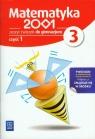 Matematyka 2001 3 Zeszyt ćwiczeń część 1 gimnazjum Praca zbiorowa