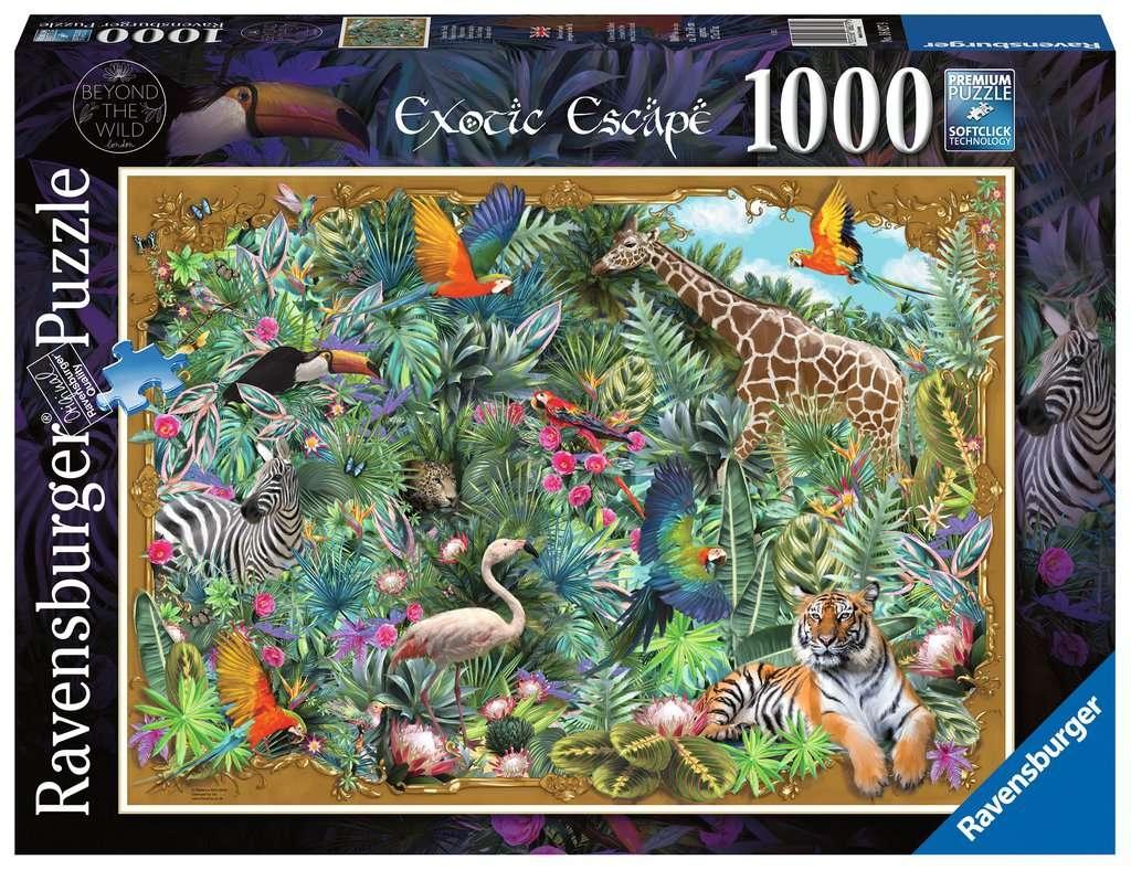 Puzzle 1000: W głębi dziczy (16827)