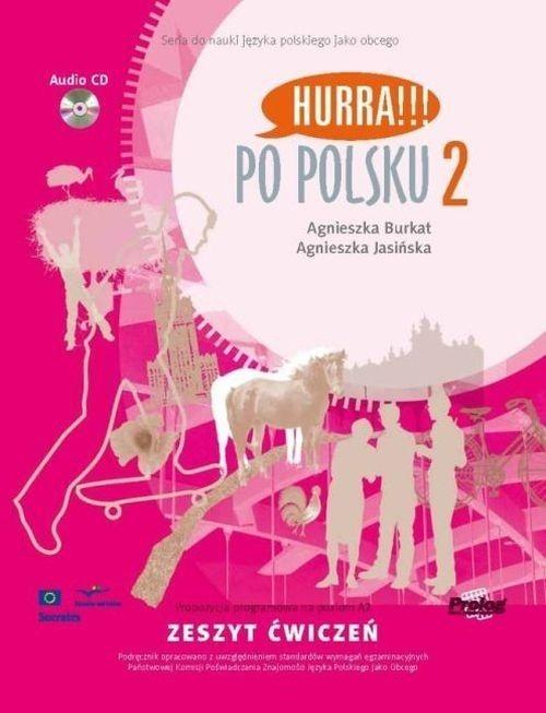 Po polsku 2 Zeszyt ćwiczeń + CD Burkat Agnieszka, Jasińska Agnieszka
