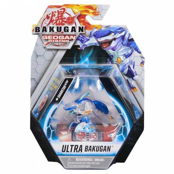 Figurka Bakugan kula Delux Geogan Rising Monster Shark diamentowy (6061538/20132900)